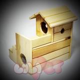 6 - Nhà ngủ - Hang trú cho Chuột Hamster