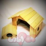 5 - Nhà ngủ - Hang trú cho Thỏ Cảnh
