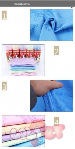 khăn siêu thấm hình kute 4