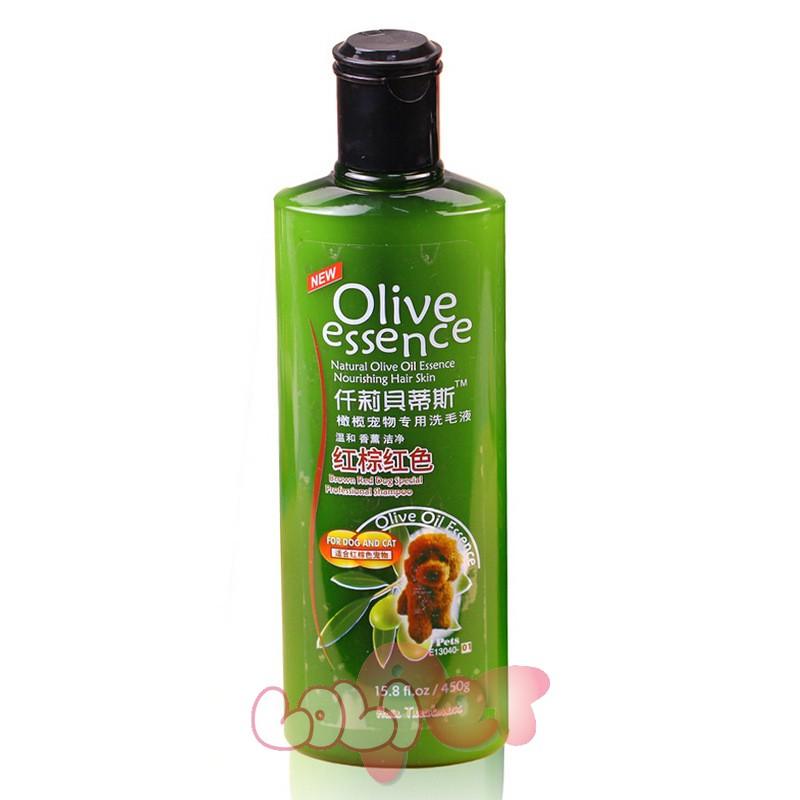 sữa tắm olive cho lông nâu đỏ (1)