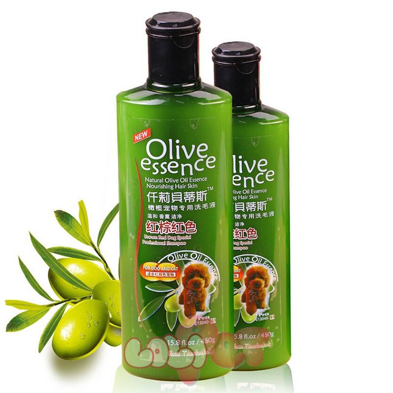 sữa tắm olive cho lông nâu đỏ (2)