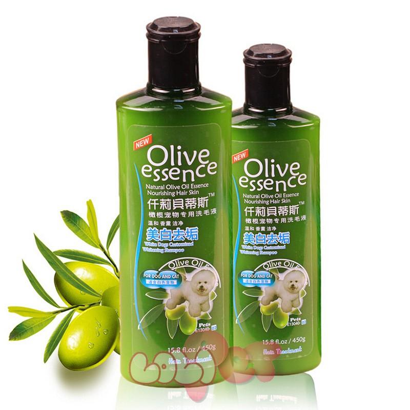 sữa tắm olive cho lông trắng (1)