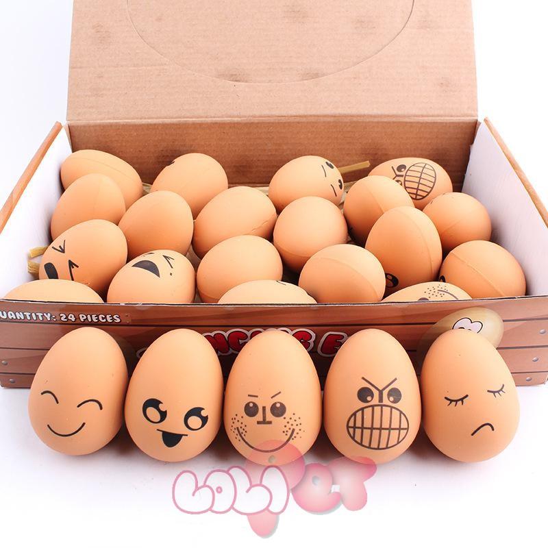 trứng cao su mặt ngố 1